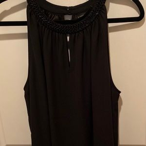 Lane Bryant black blouse size 14/16 with tags